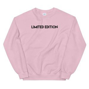 Pink & Black Limited Edition Crewneck Sweatshirt